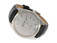 Armbanduhr: großes Omega Constellation-Chronometer 36,5mm, Ref.168022, ca.1966/1967, mit Zertifikat,