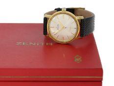 Armbanduhr: seltenes Zenith Chronometer Zenith 40T mit Originalpapieren, Originalbox und