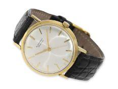 Armbanduhr: vintage Blancpain mit Zentralsekunde, 60er-Jahre, Ca. Ø34mm, 18K Gold, Spezialgehäuse