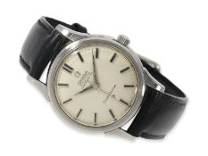 Armbanduhr: Omega Constellation Chronometer Ref.14381-10SC, ca.1960, Ca. Ø34,5mm, Edelstahl,