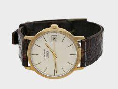 Armbanduhr: vintage Armbanduhr mit Zentralsekunde, Marke Pallas Stowa, 14K Gold, 60er-Jahre: Ca.