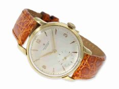 Wristwatch: wanted large Zenith chronometer with the legendary calibre '135', ca. 1948