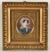 Jeremias David Alexander Fiorino 1797 Kassel - 1847 Dresden - Bildnis der Johanna Carolina Stübel (