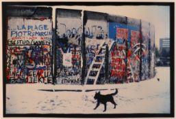 """Jochen Knobloch1941 Dresden - lebt in Hamburg - """"19. November 1989. Potsdamer Platz"""" (aus dem"""