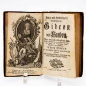 Kriegs- und Heldenthaten des Freyherrns Gideon von Laudon (...) Leipzig und Wien, 1761. Hldr.