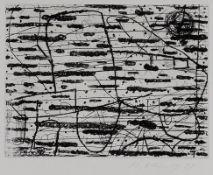 Hanns Schimansky 1949 Bitterfeld - lebt in Berlin - Ohne Titel - Radierung/Papier. 15 x 19,5