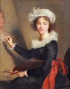 Elisabeth Vigée Lebrun 1755 Paris - 1842 Louveciennes Kopist nach - Selbstbildnis vor der St