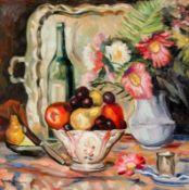 Alexander Alexandrowitsch Deineka 1899 Kursk - 1969 Moskau attr. - Stillleben - Öl/Lwd. 55 x
