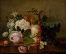 Cornelis Johannes van Hulstijn 1811 Jutphaas (heute Nieuwegein) - 1887 Celje - Stillleben mit