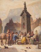 F. Schal Künstler des 19.
