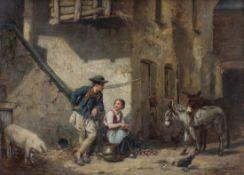 Léon Emile Caille 1836 Merville - 1907 Rosny-sur-Seine