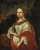 Künstler des 17. Jahrhunderts - Christliche Märtyrerin