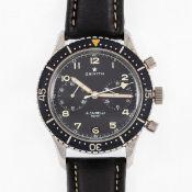 Zenith-Herrenarmbanduhr - A. Cairelli Roma Chronograph
