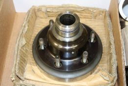Lathe 5C Collet Chuck, A2-6 with Lot of Various Size Collets