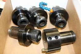 (5) Haas Lathe Boring Bar and Collet Chuck Tool Holders