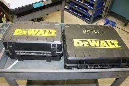 DeWalt Drill DC925KA with Charger and Battery, DeWalt Electric Palm Sander DW411K