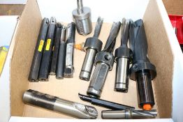 Various Size Through Coolant Drills and Other Various Boring Bars