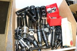 Box of Various Collet Holders and Bushings