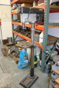 1995 K&F 16 Speed Floor Drill Press, 3/4 HP
