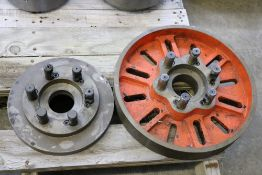"""10"""" Lathe Face Plate and 14"""" Lathe Face Plate"""