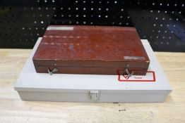 """Vermont Gage Pin Set Incomplete .250"""" - .061"""" and Incomplete Links Gage Block Set .1050 - 4"""""""