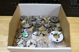 Box of Various Size Thread Ring Gages