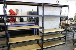 """(2) 5 Tier Storage Rack/Shelf 48"""" x 72"""" x 18"""""""