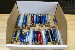 Box of Various Size Internal Thread Gages