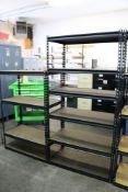 """6 Tier Storage Rack/Shelf 36"""" x 72"""" x 18"""" and 4 Tier Storage Rack/Shelf 36"""" x 54"""" x 18"""""""