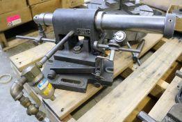 Weldon Adjustable Sub-Base EndMill 1-1/4 Sharpening Sliding Air Fixture