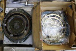 (2) Kurt Manufacturing Swivel Vice Plates