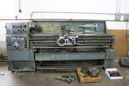 """1986 Y.C.I Supermax Model LG1667, 8"""" 3 Jaw Chuck, Tailstock, 2 Post Tool Holder, 12 Max Swing,"""