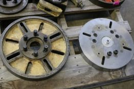 """16"""" Lathe Face Plate and 14"""" Lathe Face Plate"""