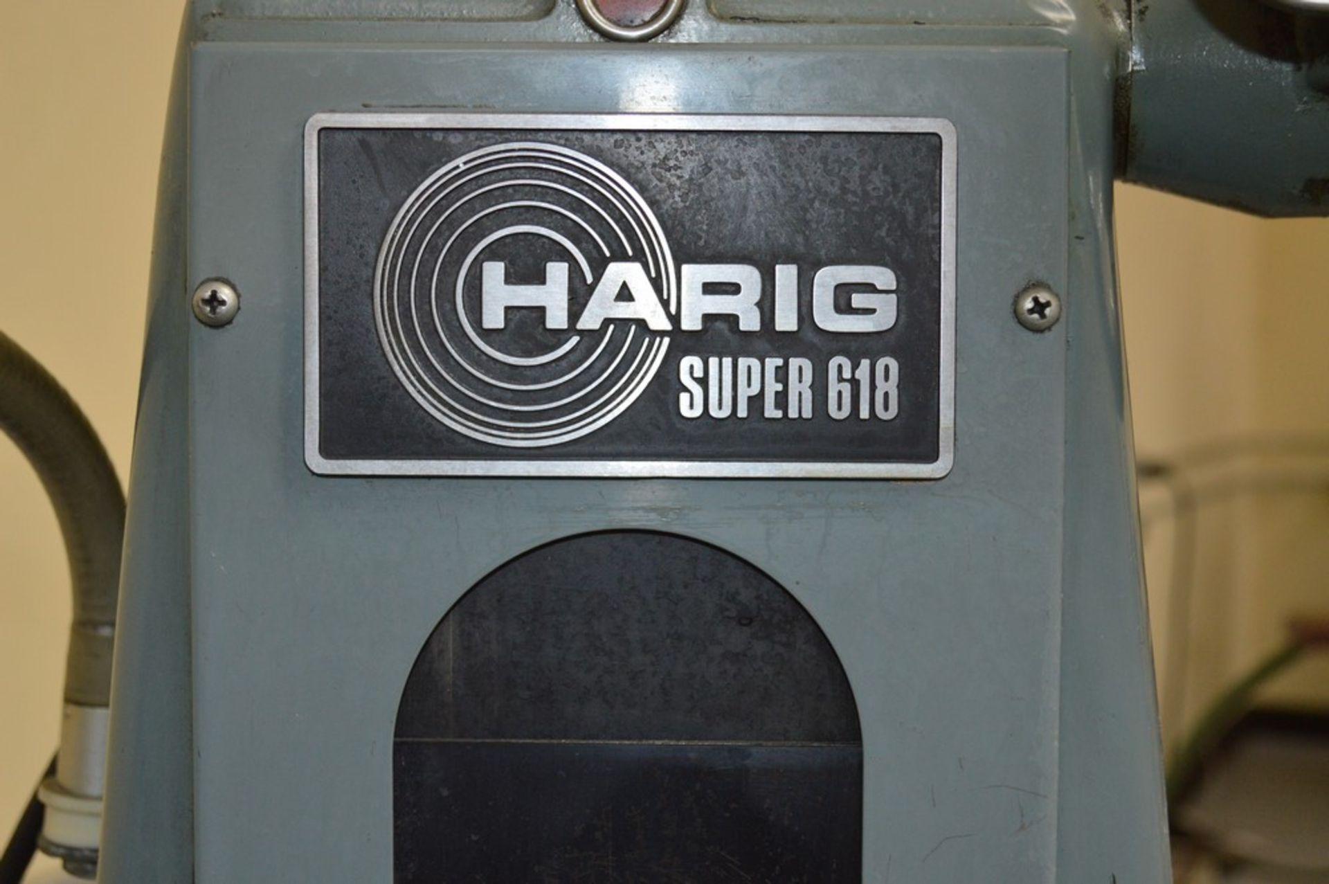 Harig Super 618, magnalock chuck, teflon ways, coolant - Image 6 of 9