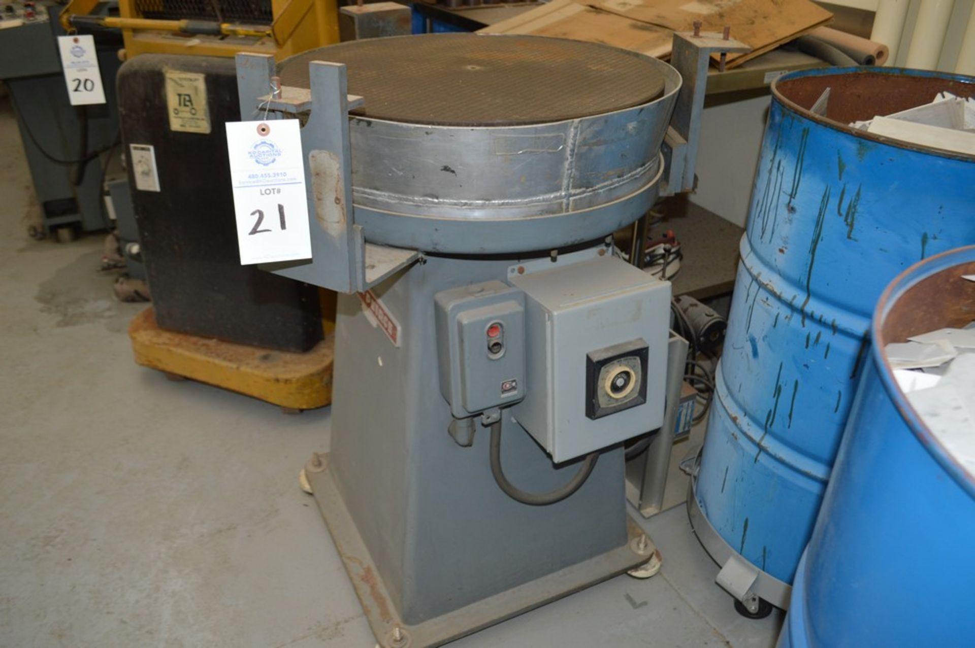 "Taft-Peirce 24"" Rotary Lapping machine S/N 217 - Image 4 of 4"