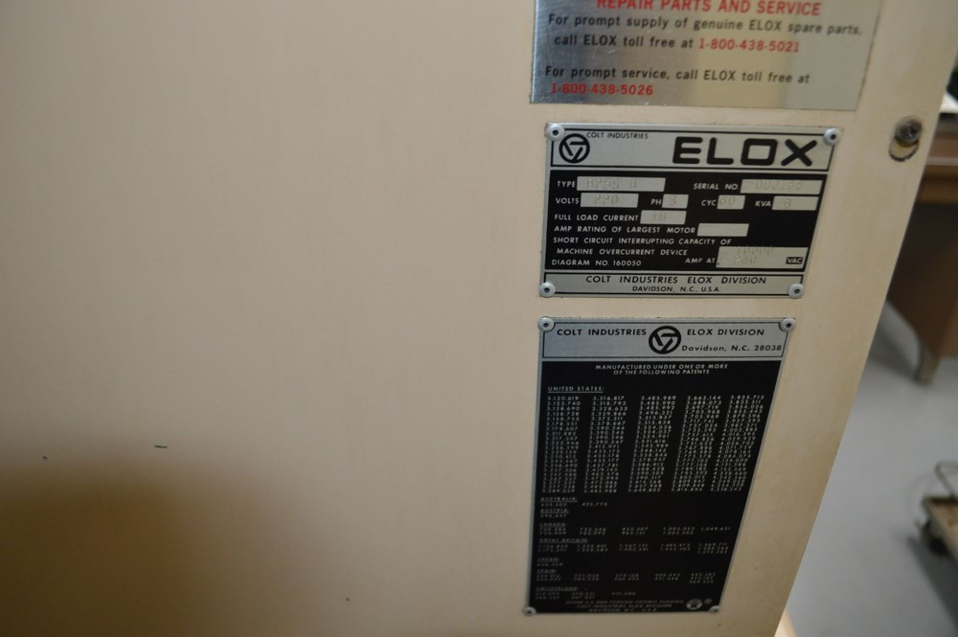 Elox small hole Plunge EDM Systems submersible EDM, Analam mini wizard DRO, benchtop model, 16 x 8 - Image 7 of 8