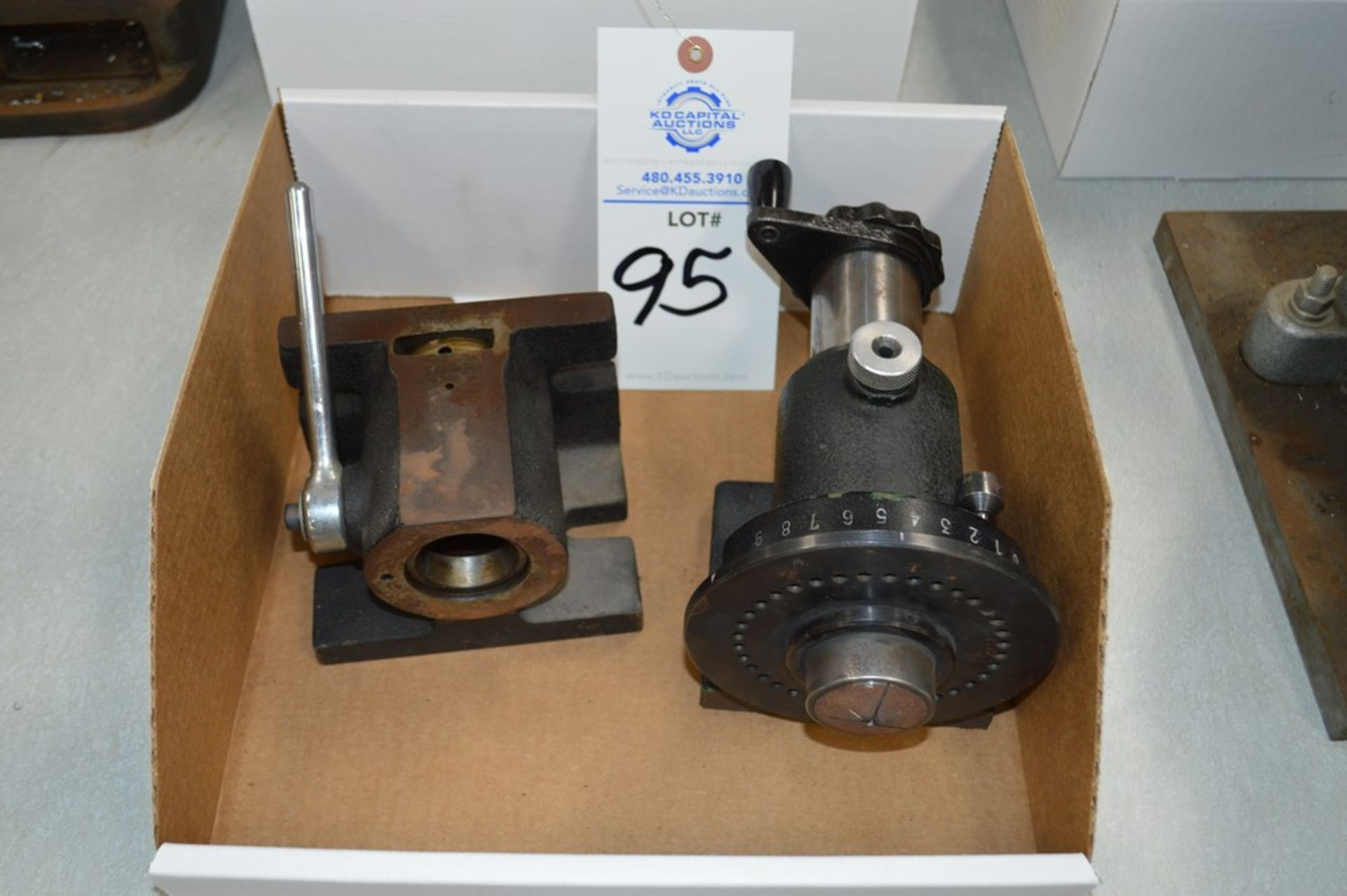 Drilling and Milling spin index holder attachments