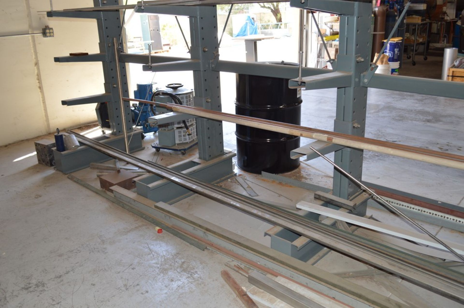 """Two Sided metal """"Gorrila"""" storage racking with all contents, copper, Stainless Steel, pvc, and more, - Image 4 of 7"""