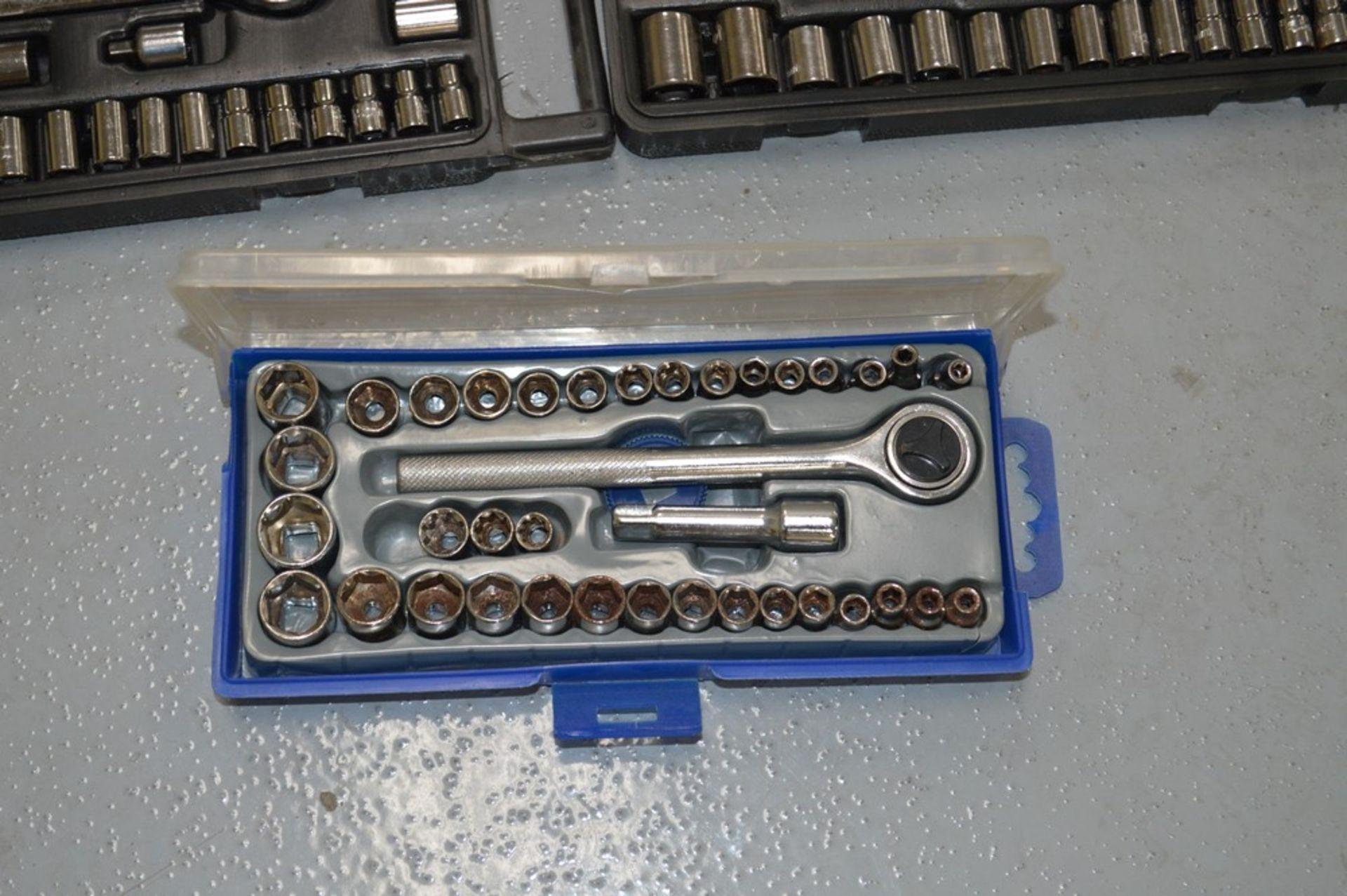 (2) SPE + metric 40 piece forged steel socket sets, (1) misc socket set - Image 3 of 3