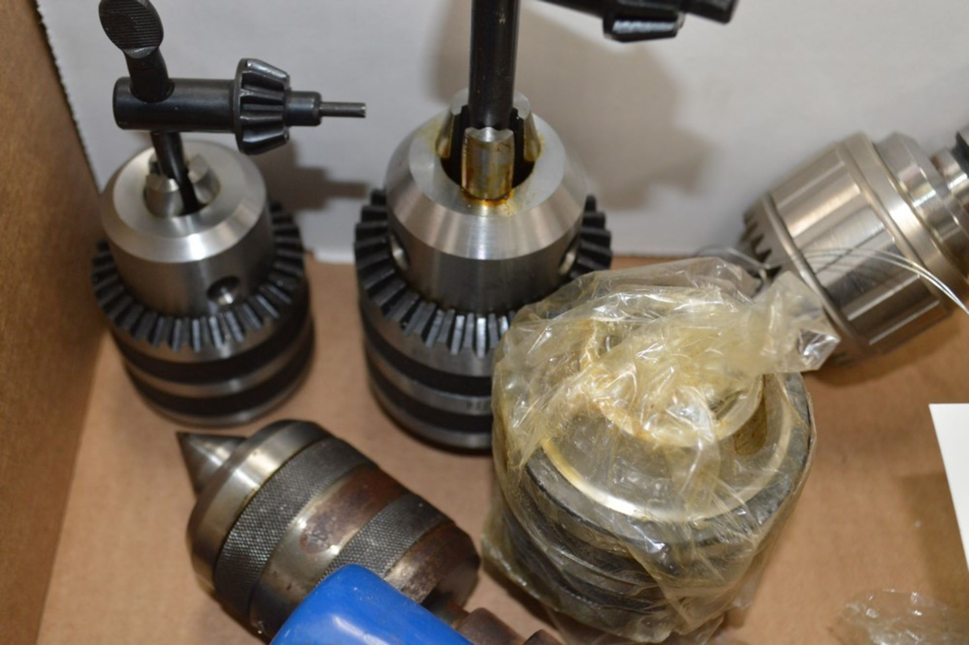 Various lathe tooling, drill chuck arbors JT3 and JT4 - Image 3 of 4