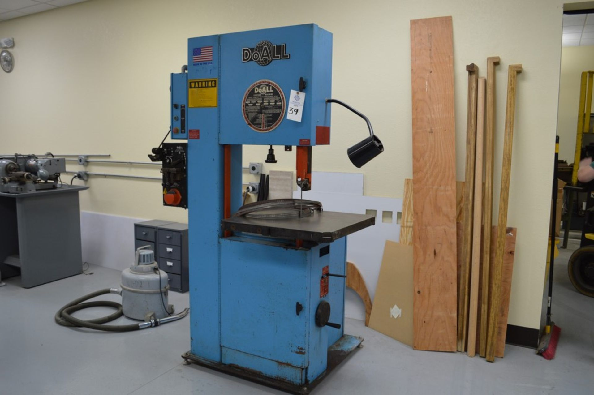 """Do-All, 2013-V, 154"""" Band, with extra bands and DBW-15 welder"""