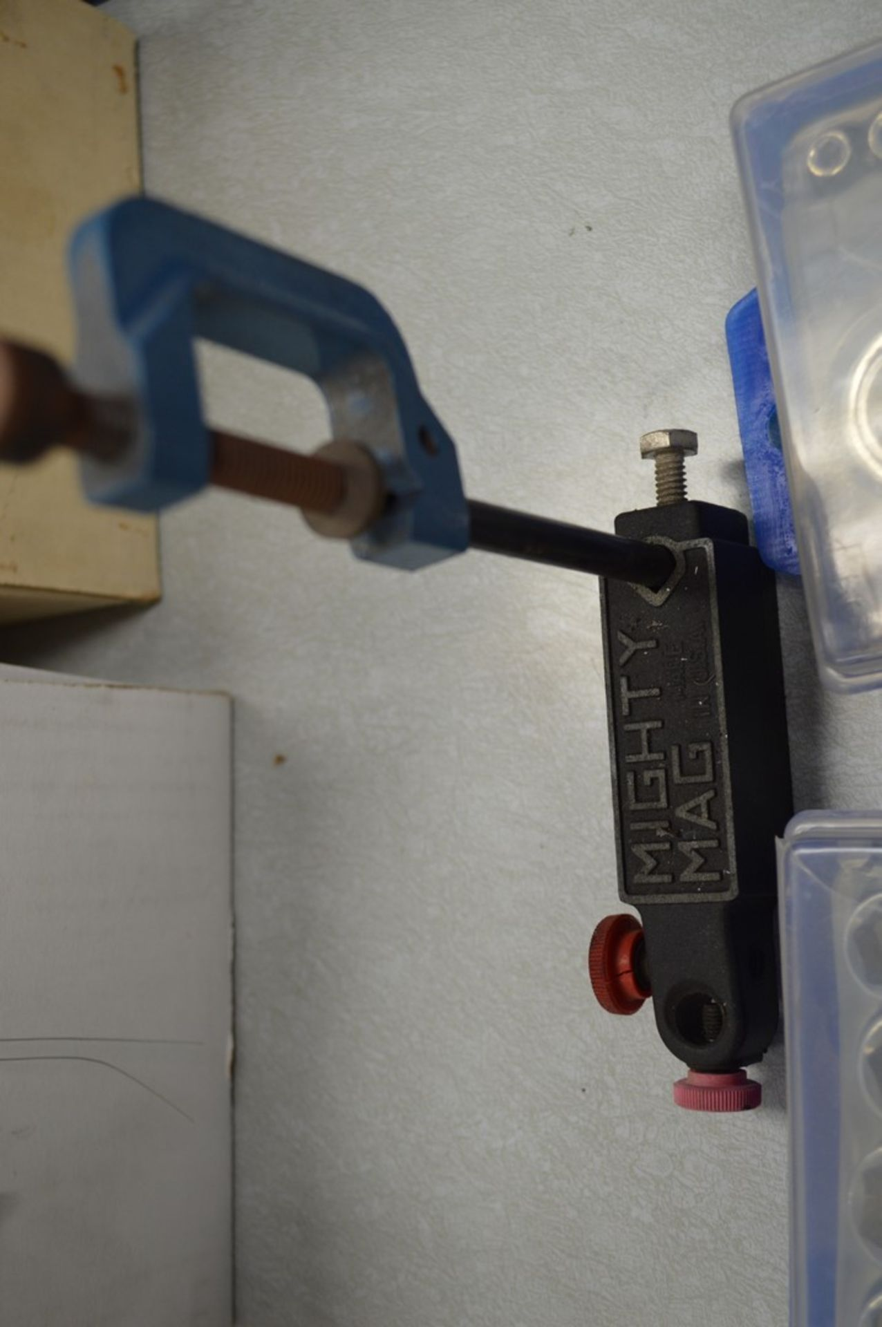 Mighty mag C Clamp and (2) socket sets - Image 2 of 4