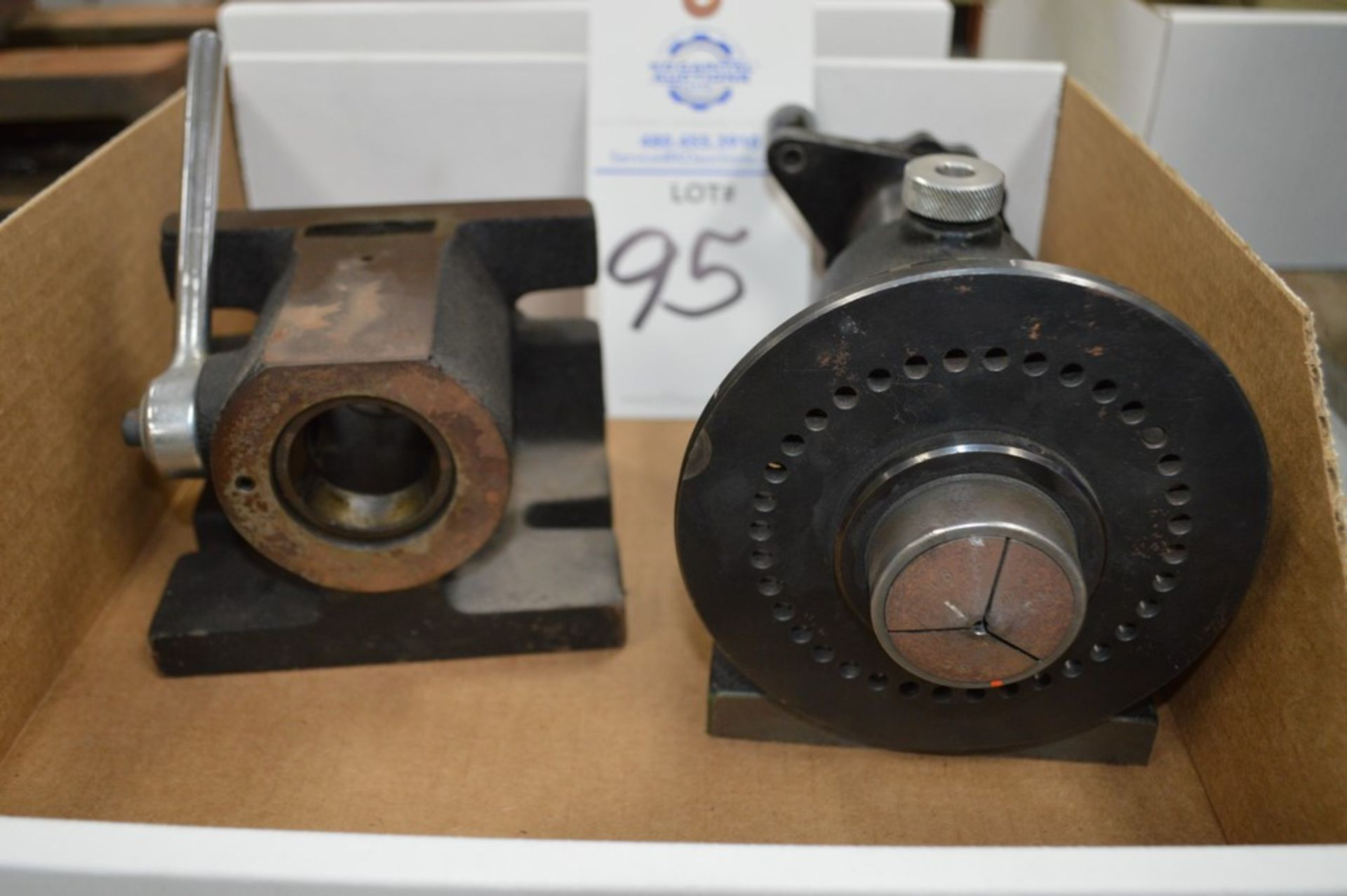 Drilling and Milling spin index holder attachments - Image 2 of 4