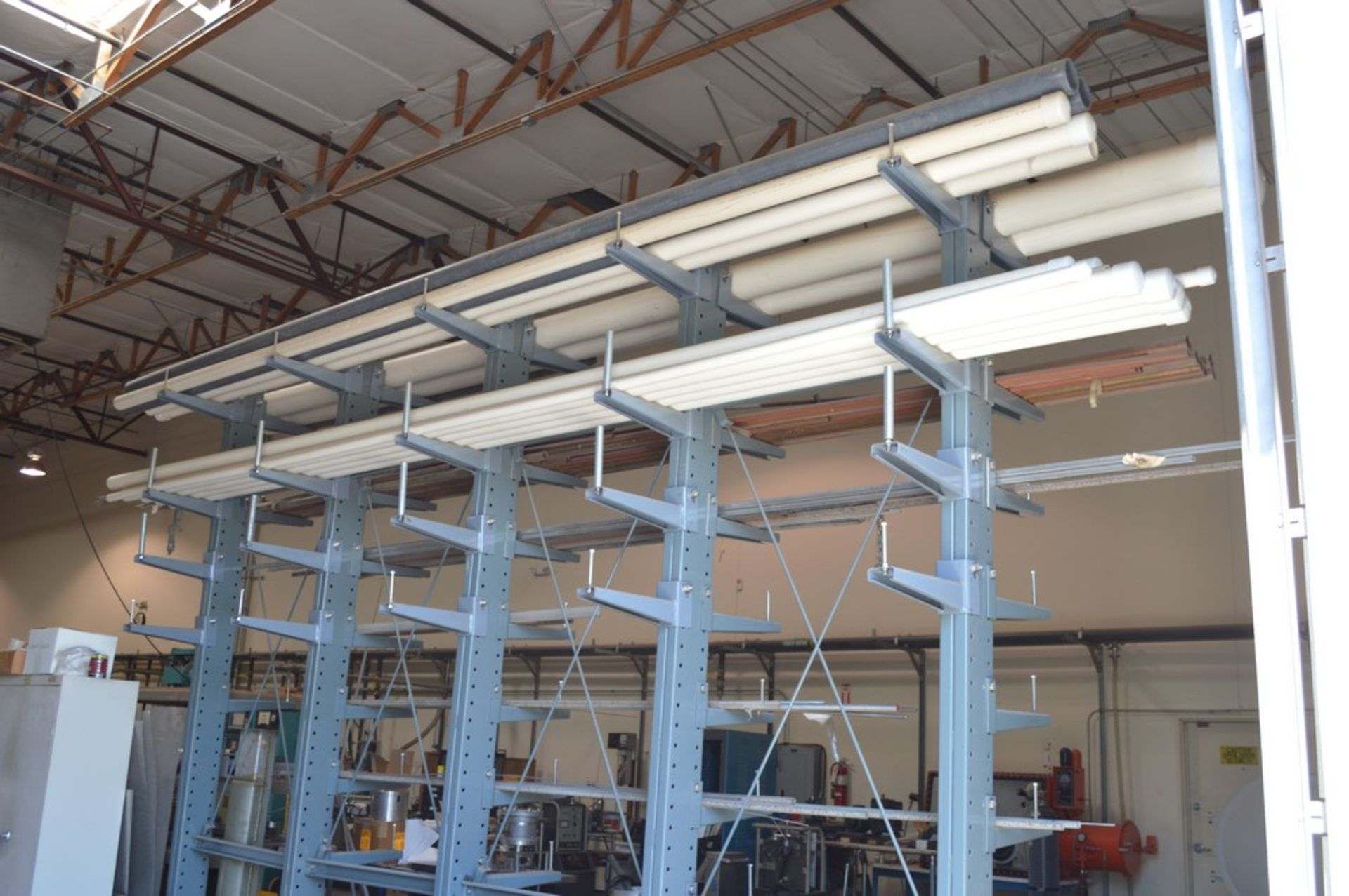 """Two Sided metal """"Gorrila"""" storage racking with all contents, copper, Stainless Steel, pvc, and more, - Image 7 of 7"""