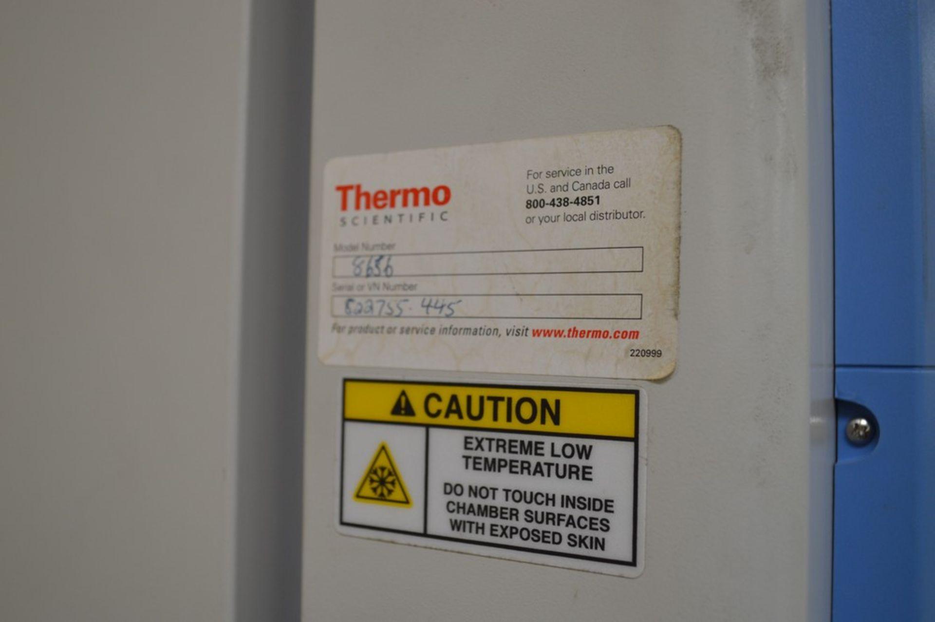 Therma Scientific Forma 8600 Series, Model 8656 Deep Freeze Refrigorator (-86 F) - Image 4 of 7