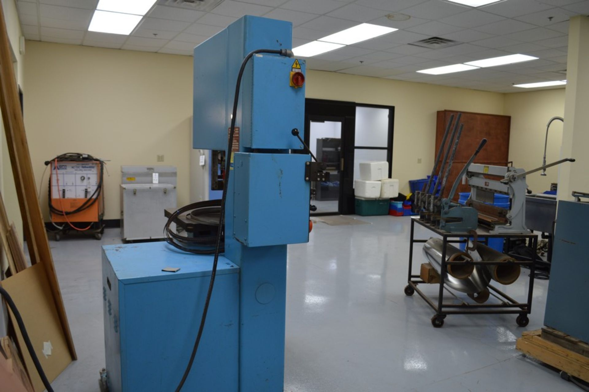 """Do-All, 2013-V, 154"""" Band, with extra bands and DBW-15 welder - Image 4 of 7"""