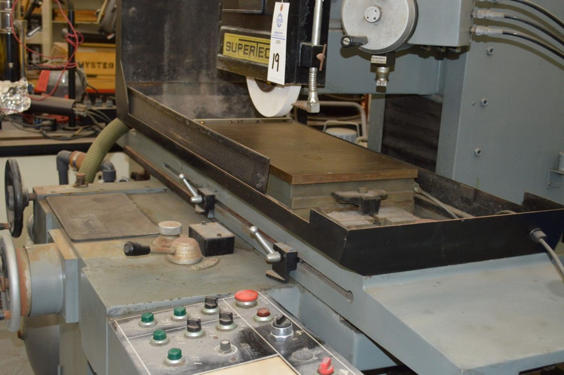 Supertec, STP-H1428 AD Grinder, Full three axis hydraulics, 12 x 27 magnetic chuck - Image 3 of 9