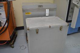 "VTL-500 Dry Ice Deep Freezer, internal tub 16 1/2 x 26 1/4"" x 19 1/2"" deep with extra metal jacketed"