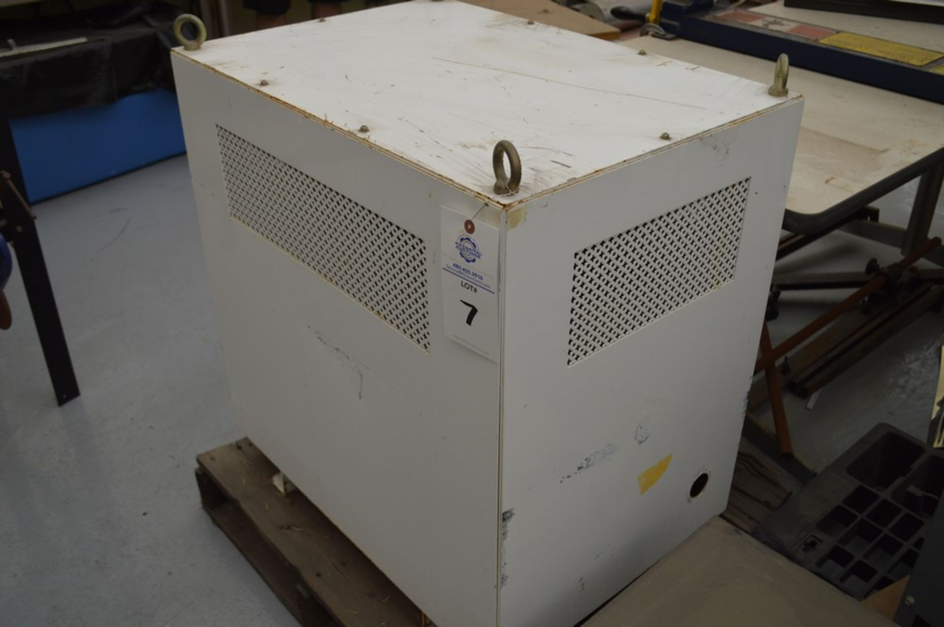 Tegi transformer 480 x 208 y, 200a - Image 2 of 6