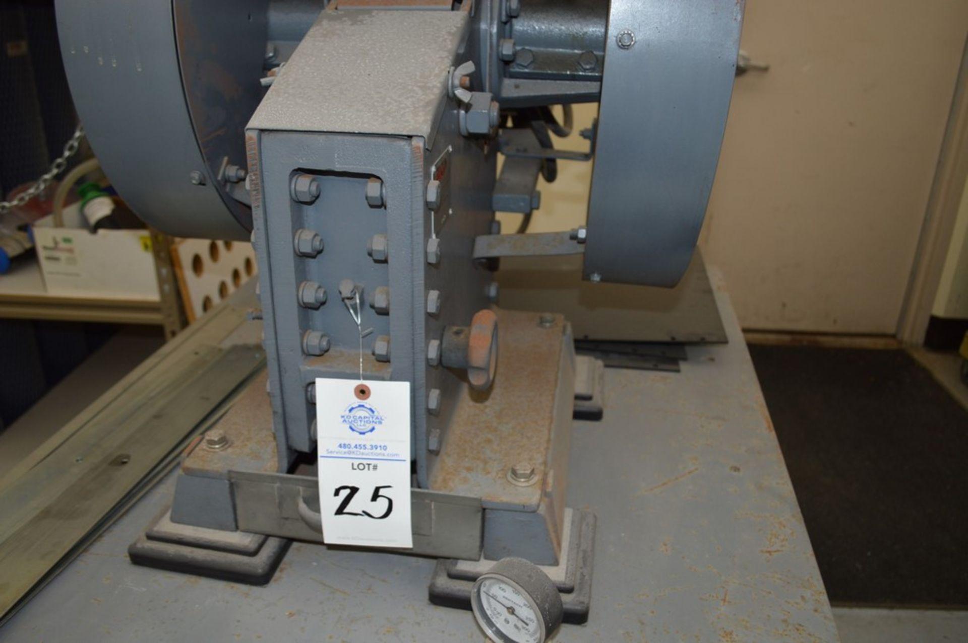 "BICO Rock/Ore Crusher ""Chipmunkcrusher Model 4"", 3 HP, 9"" x 3 1/2"" Opening S/N 69479 - Image 3 of 8"